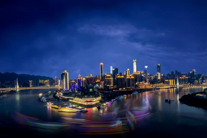 figure the first night in mainland china by