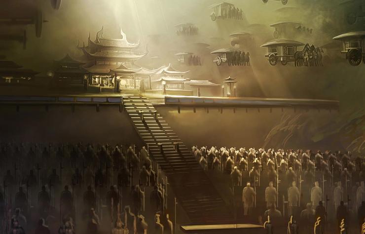 How is Qin Shi Huang tomb built? - kikbb