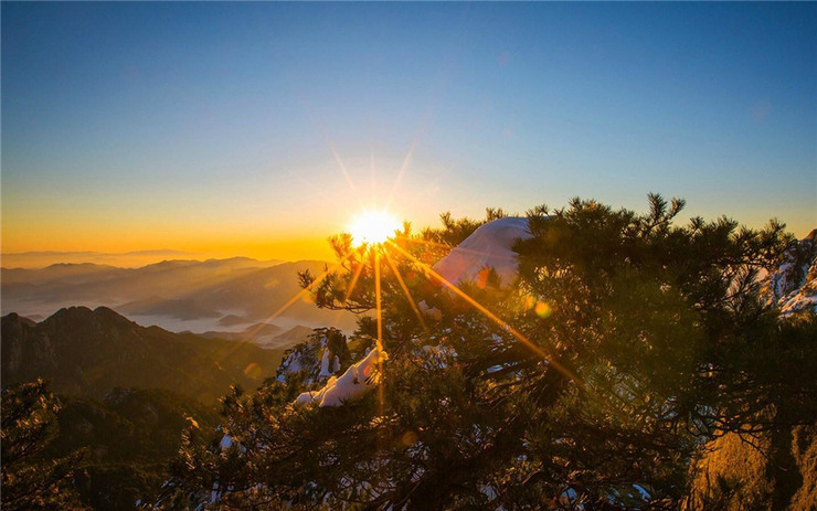 huangshan sunrise by network_8ed1d7